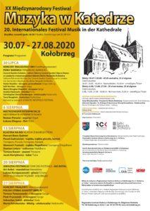 "Read more about the article XX Międzynarodowy Festiwal ""Muzyka w Katedrze"""